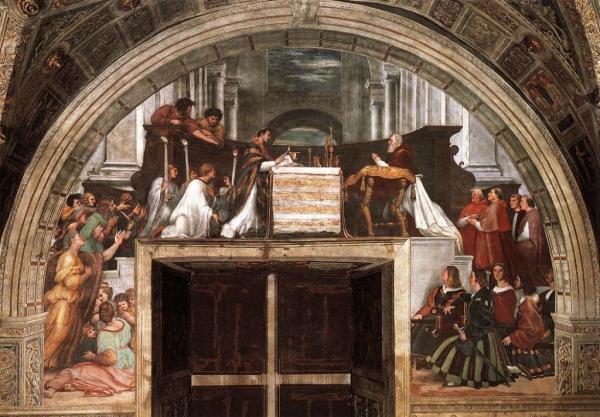 Farnosť Rusovce Sviatok Najsvätejšieho Kristovho Tela a Krvi, The Mass at Bolsena